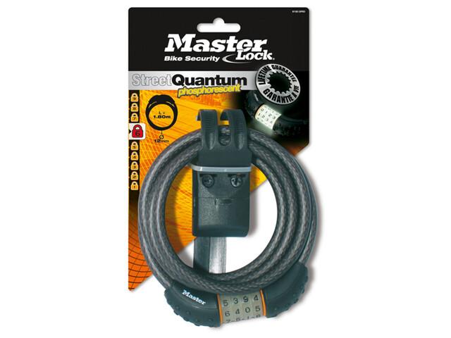 Masterlock Quantum 8190 Nightglow Bike Lock grey